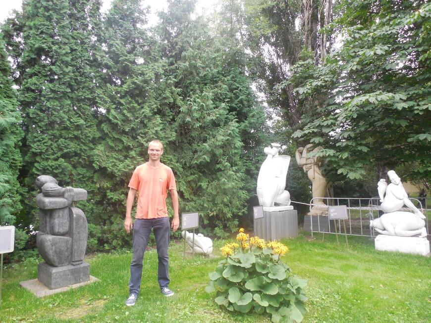 Парк искусств «Музеон»: декоративные сооружения