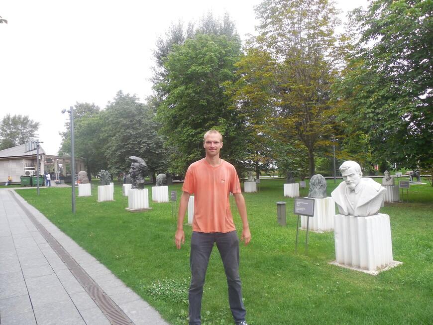 Парк искусств «Музеон»: аллея портретов