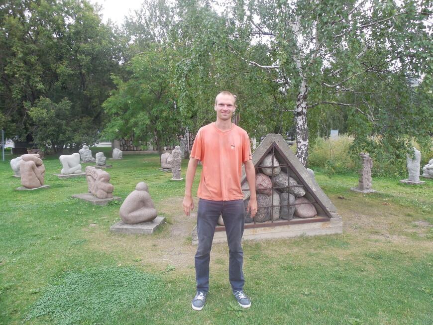 Парк искусств «Музеон»: скульптурная композиция «Вожди и жертвы»