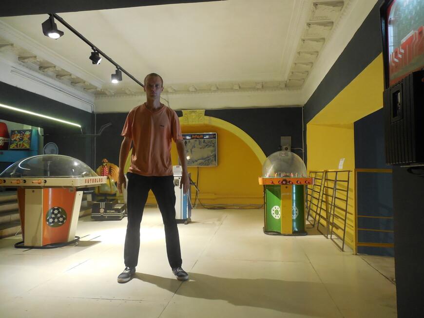 Музей советских игровых автоматов - игровые автоматы