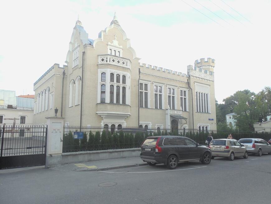Ивановская горка: замок Кнопа (особняк Кнопа)