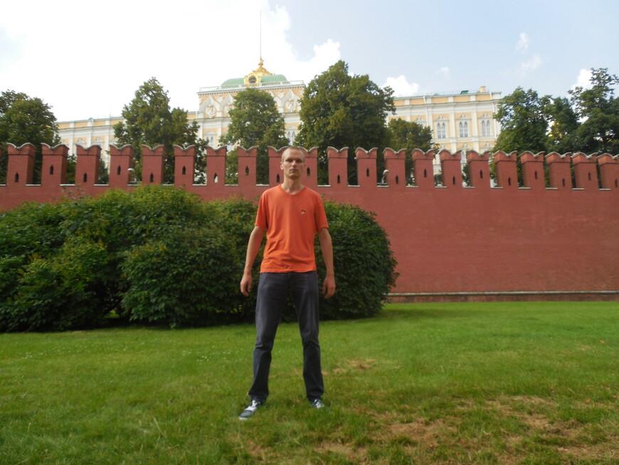 Московский кремль - вид с Кремлёвской набережной