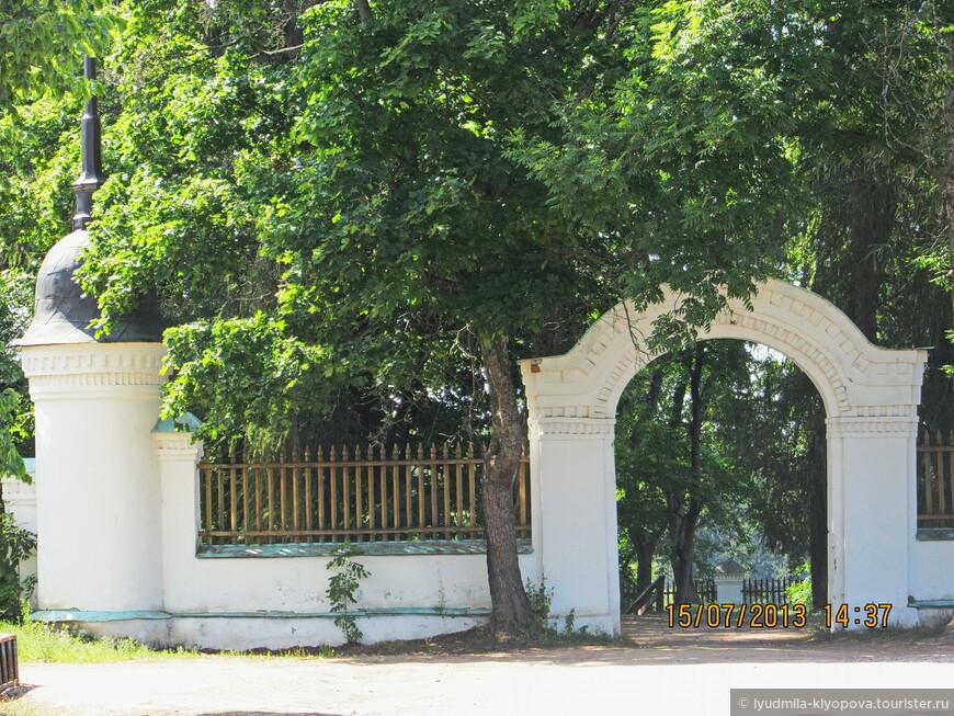 Монастырское кладбище.