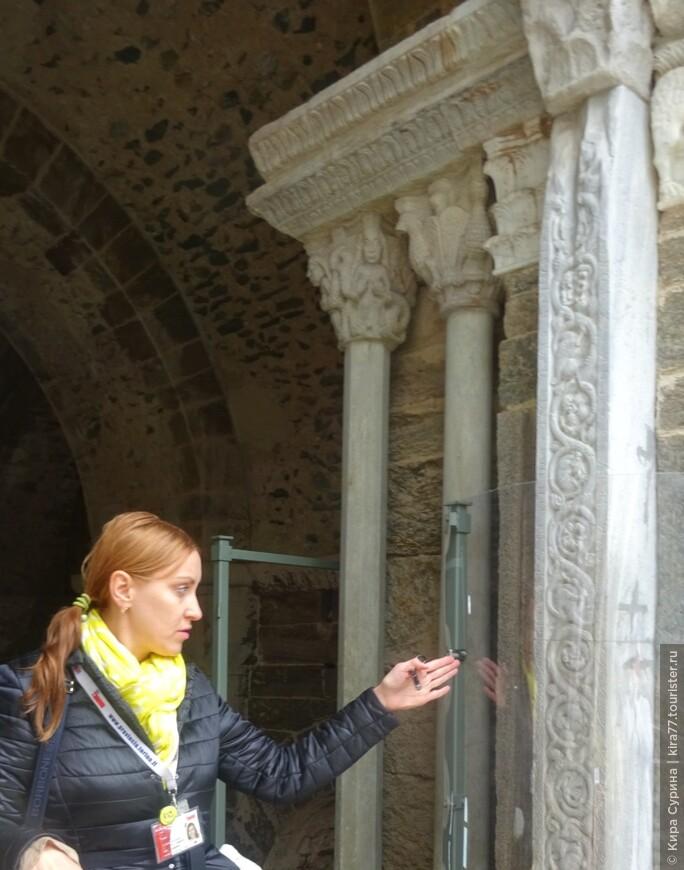 Загадочный портал Зодиака, аббатство св. Михаила.