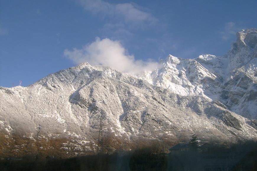 Суровый переезд через Альпы.  Из Турина в Люксембург.