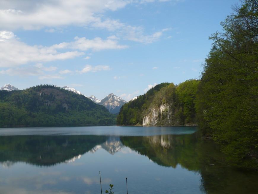 Лебединое озеро, Бавария, в километре от Нойшванштайна.