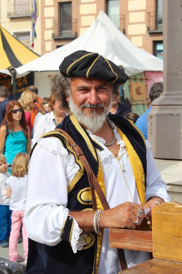 Средневековая ярмарка в Алкале де Энарес