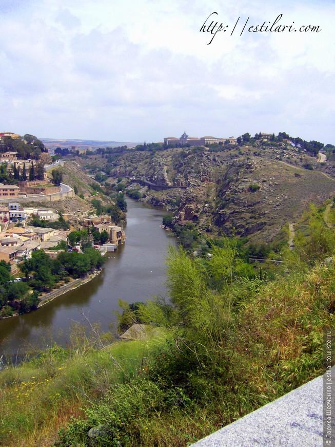 Вид на реку Тахо, Толедо