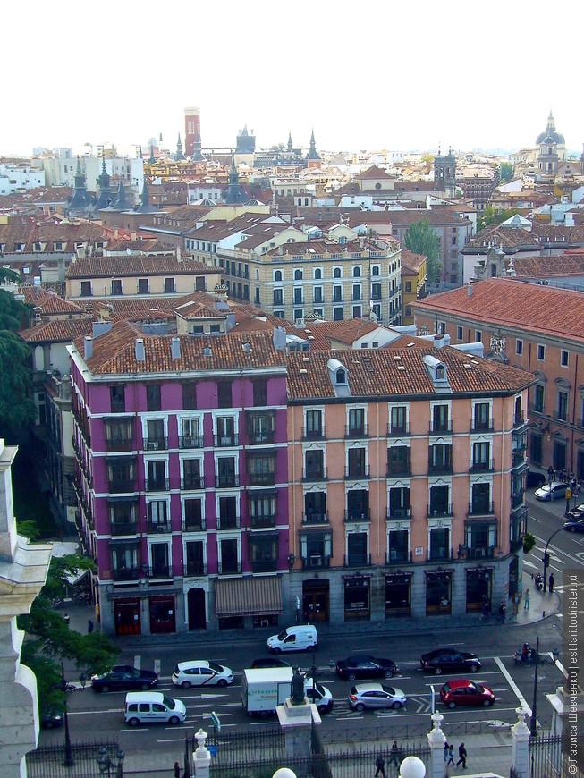 Мадрид, вид с Храма  Альмудены
