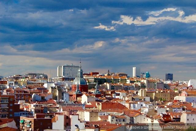 Мадрид сверху