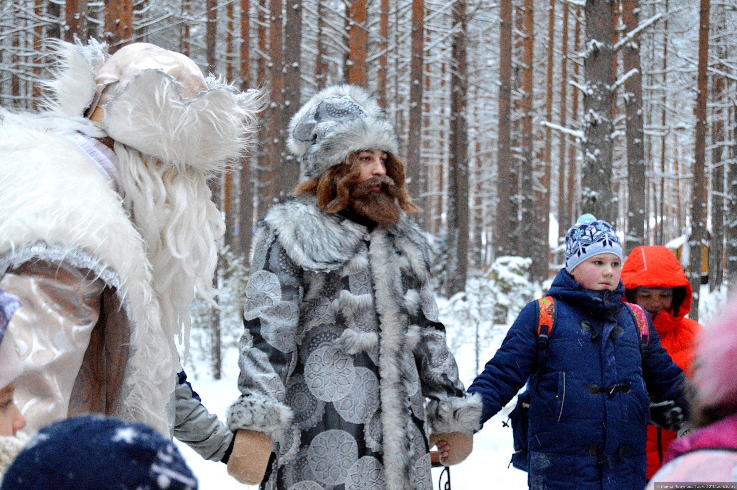 Зимние месяцы в картинках для детского сада