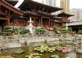 Гонконг. Монастырь Чилинь