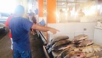 Манаус 1й день. Рыбный рынок, 00:34