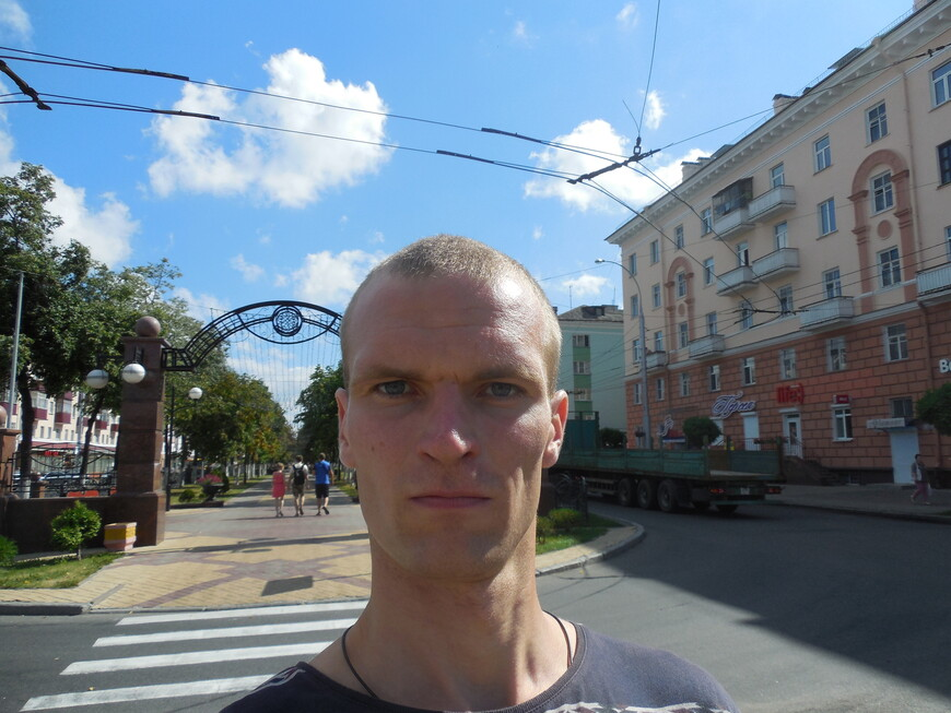 Бульвар на проспекте Победы