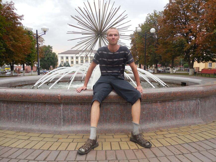 Площадь Победы: фонтан