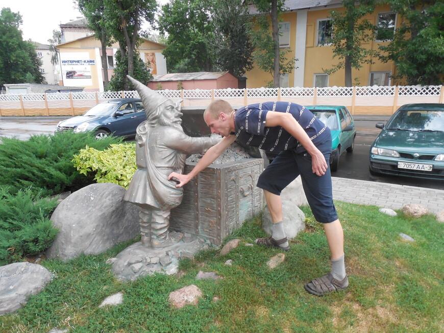 Скульптурная композиция «Сказочные гномы»
