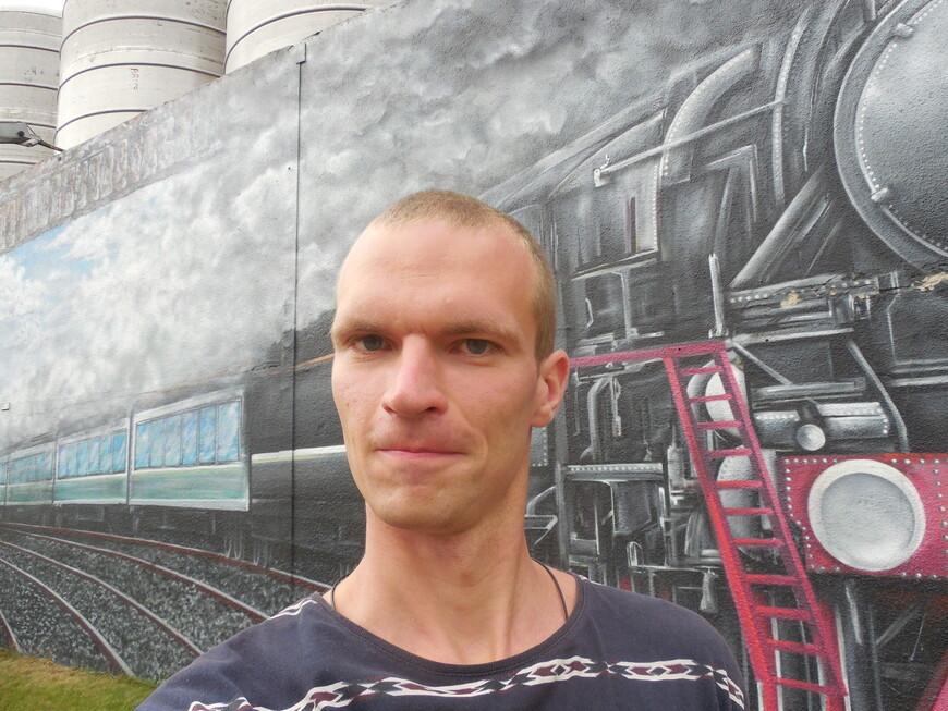 Картина на стене на тему Железнодорожного района