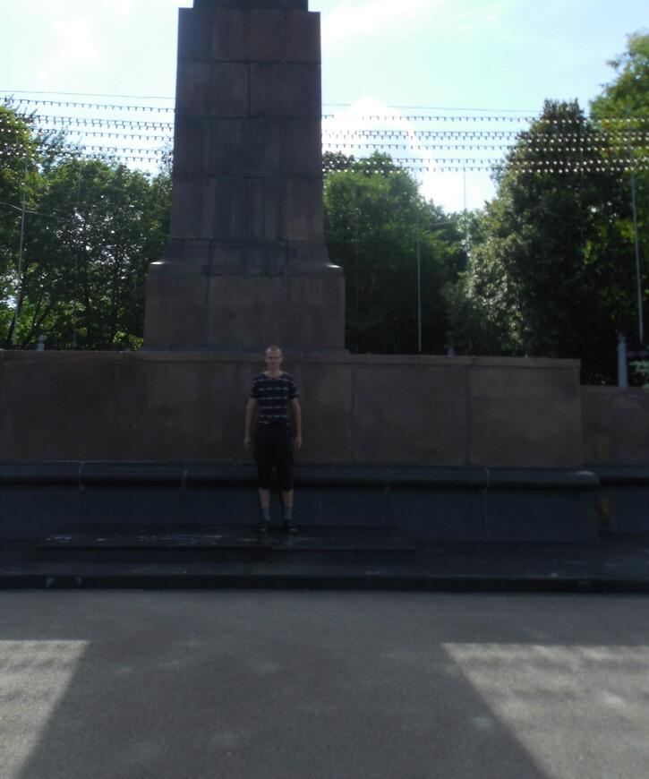 Площадь Ленина: памятник Ленину
