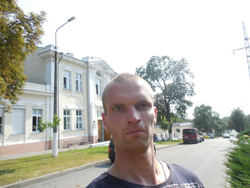 Историческая застройка на улице Комиссарова