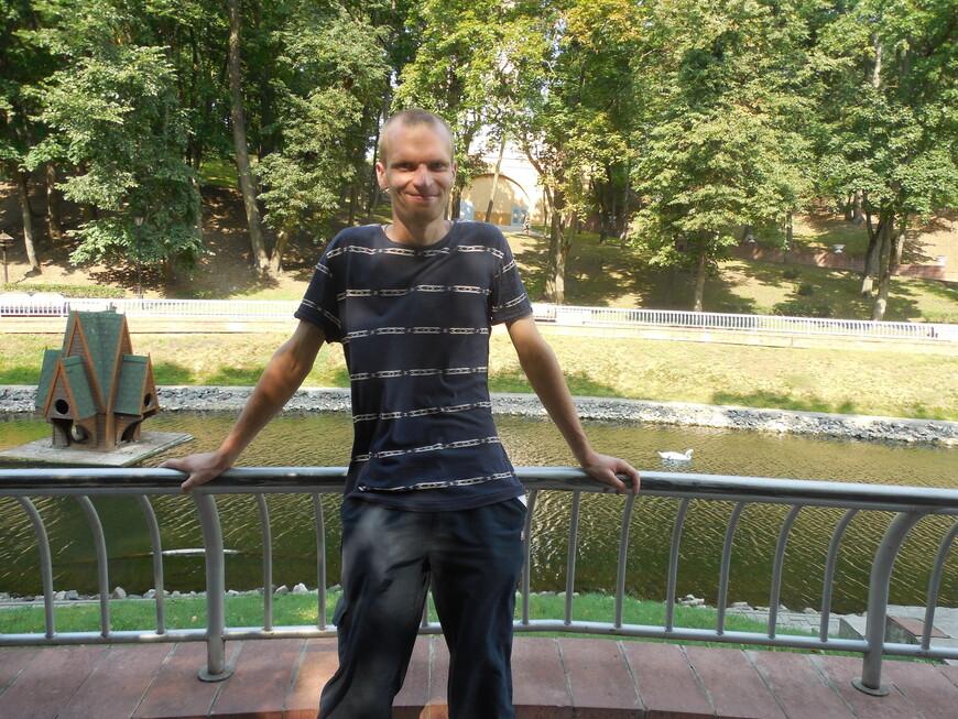 Парк Гомельского дворцово-паркового ансамбля (Гомельский парк имени Луначарского): Лебяжий пруд