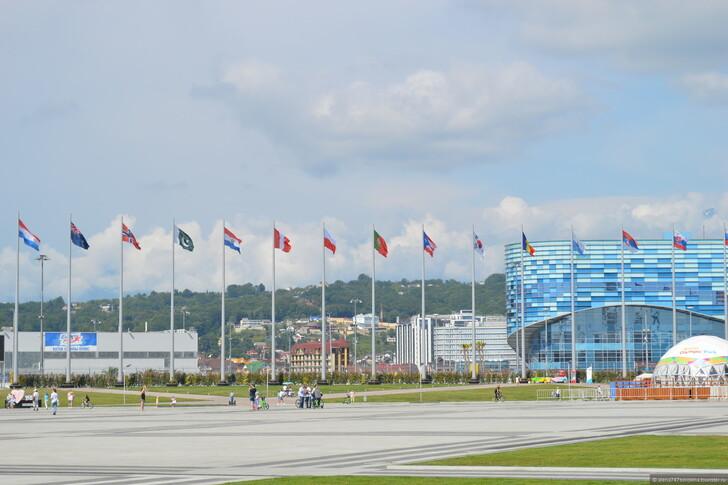 Олимпийский парк, Адлер © Елена