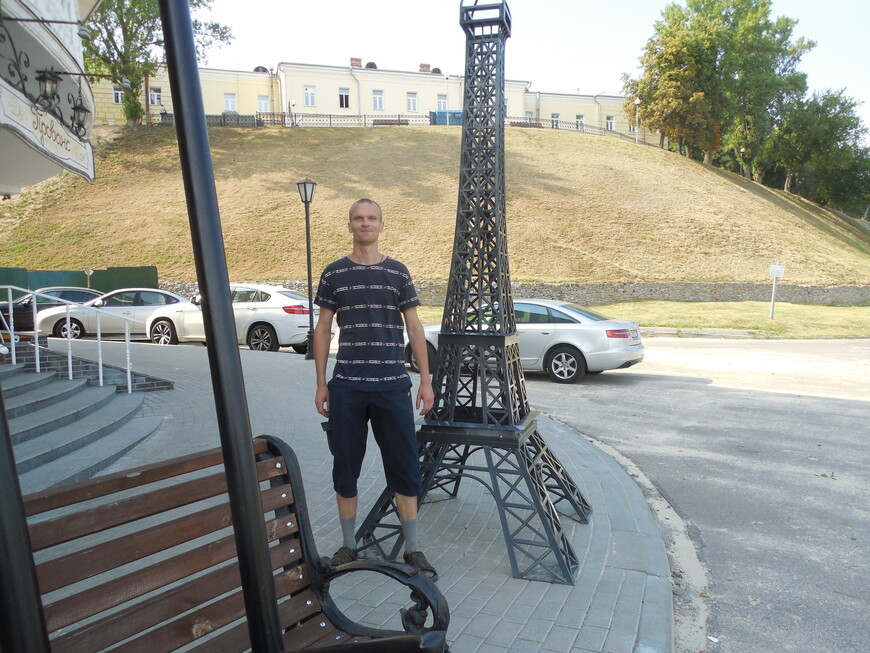 Эйфелева башня в Гомеле