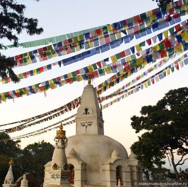 Катманду, район Ступы Сваямбунатх