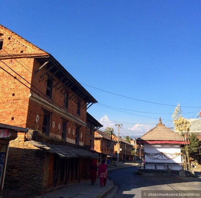 Традиционные дома непальцев