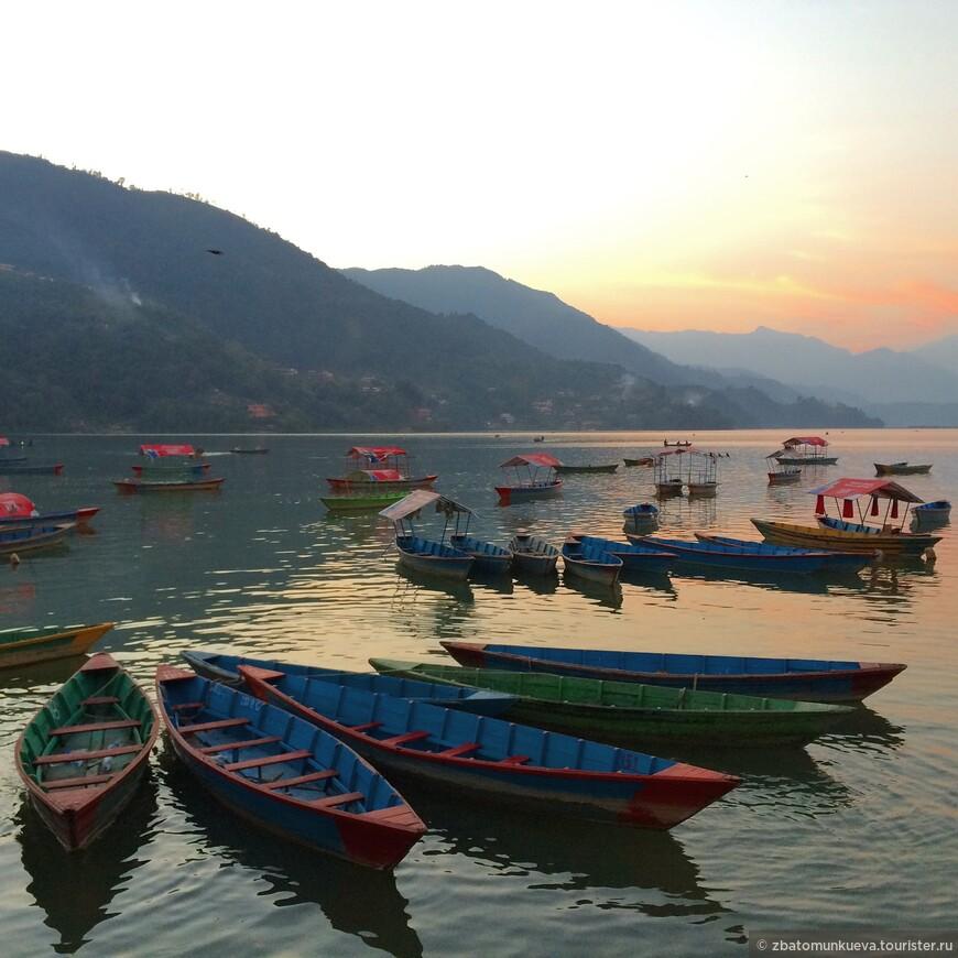 Озеро Фева, Покхара.