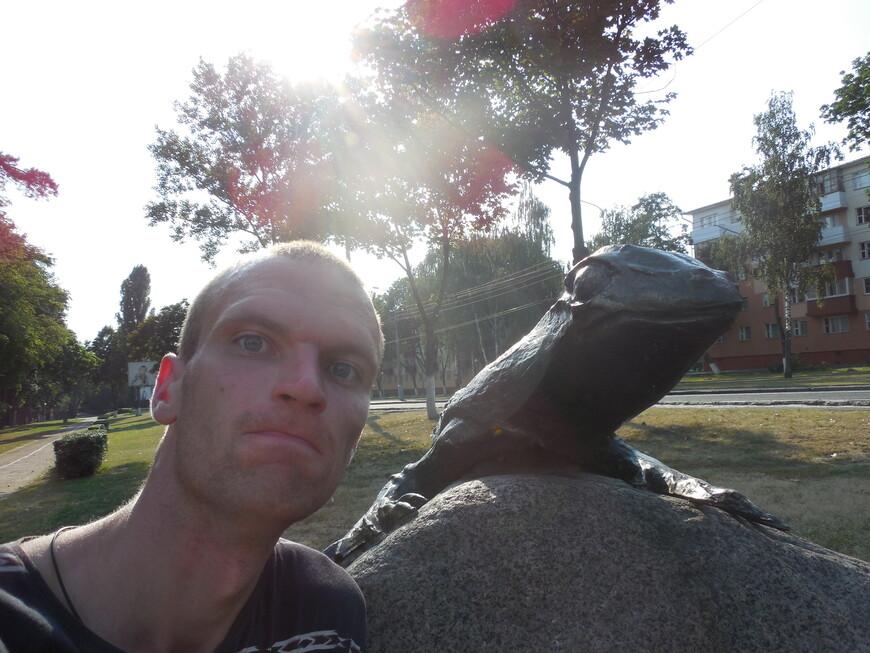 Ящерица на камне