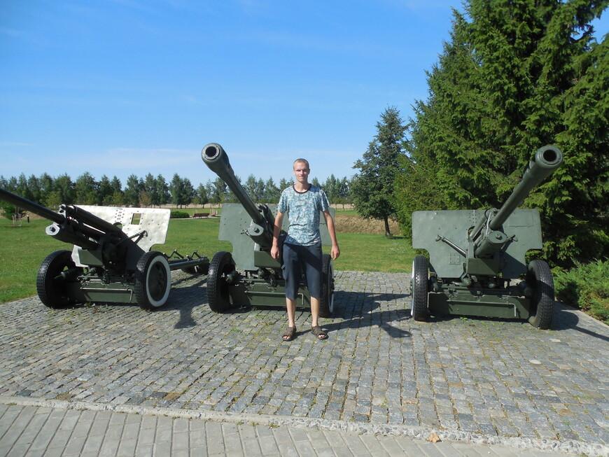 Мемориальный комплекс «Буйничское поле»: легендарные пушки ЗИС-3