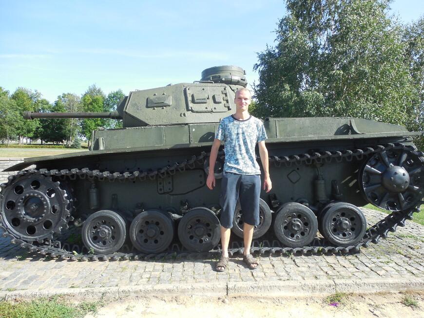 Мемориальный комплекс «Буйничское поле»: танк PzKpfw III Ausf. G