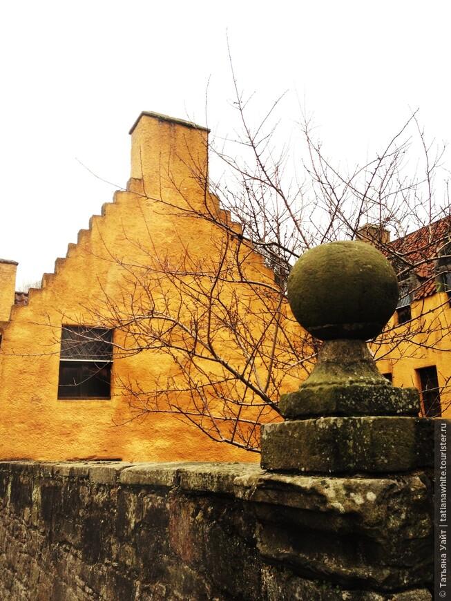 Голландские влияния на шотландские фасады. 16-17 века!!