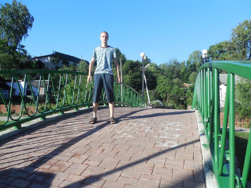 Пешеходный мост через Дубровенку