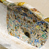 Мозаика в Парке Гуэль. Архитектор Антонио Гауди
