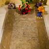 Могила Антонио Гауди в крипте Саграда Фамилия