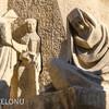 Сцена раскаяния Пилата на фасаде Страстей Саграда Фамилия