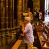 Прихожане Кафедрального Собора Святого Креста и Святой Эулалии
