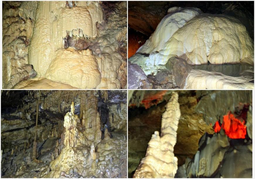 Сталктитовая пещера в Новом Афоне, Абхазия.