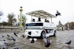 В Париже появились автобусы-беспилотники