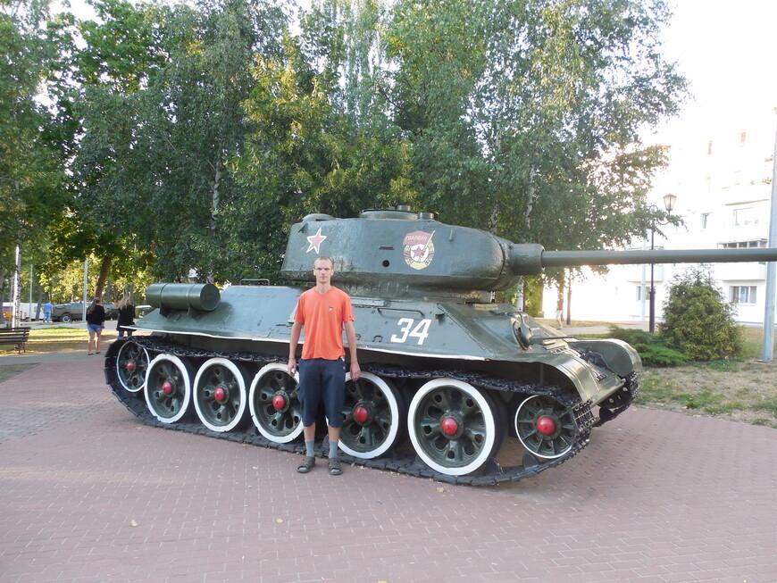 Парк Победителей: танк Т-34-85