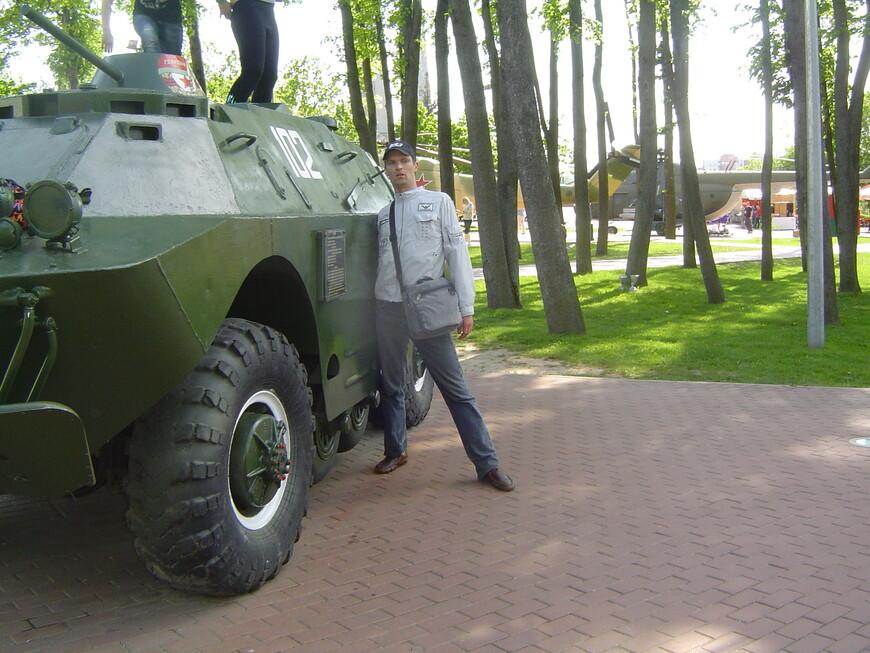 Парк Победителей: бронированная разведывательно-дозорная машина БРДМ-2