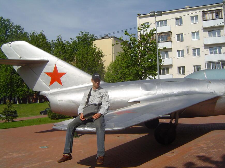 Парк Победителей: истребитель МИГ-17