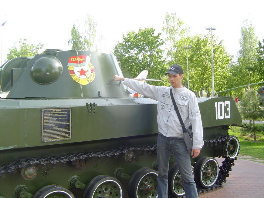 Парк Победителей: самоходное артиллерийское орудие САУ 2С9 «Нона-C»