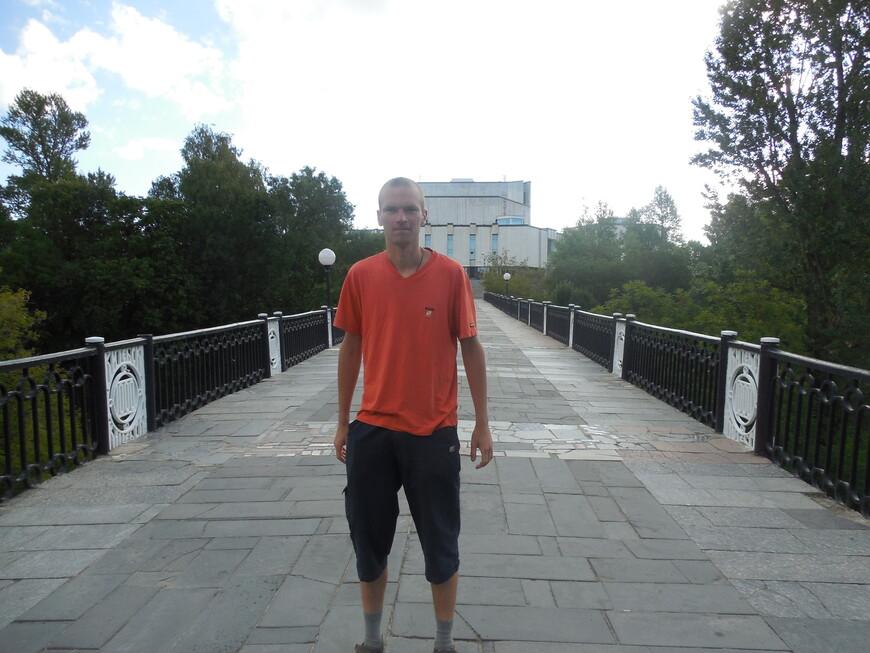 Мост 1000-летия Витебска и культурно-деловой центр «Витебск»