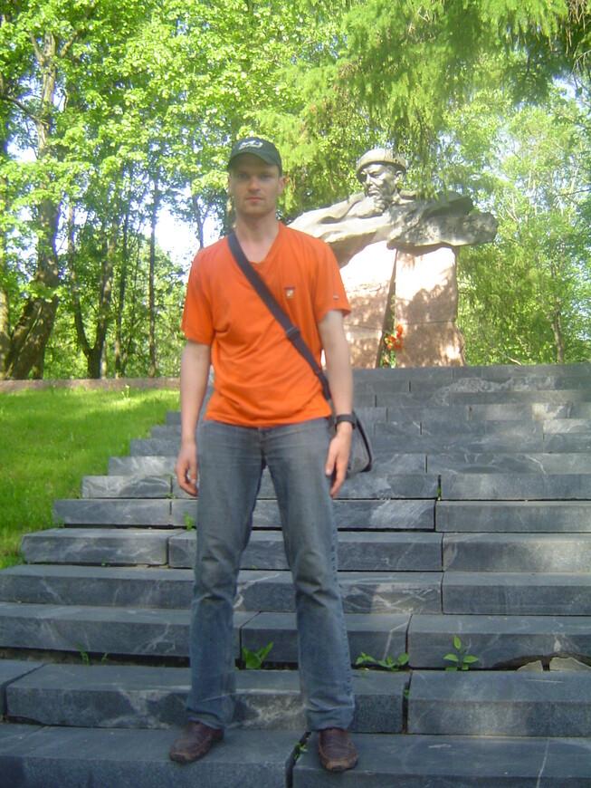 Парк Партизанской славы: памятник Короткевичу