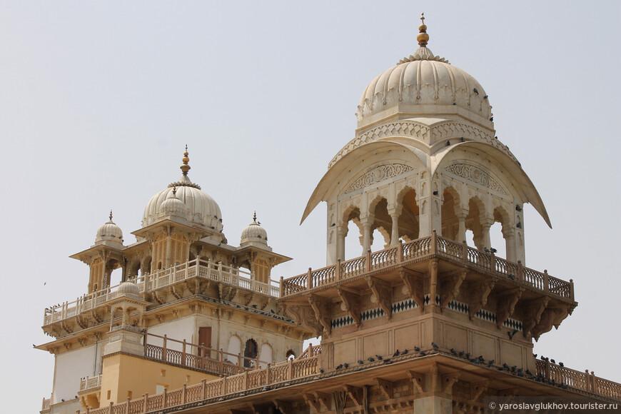 Истинно индийская архитектура музея.