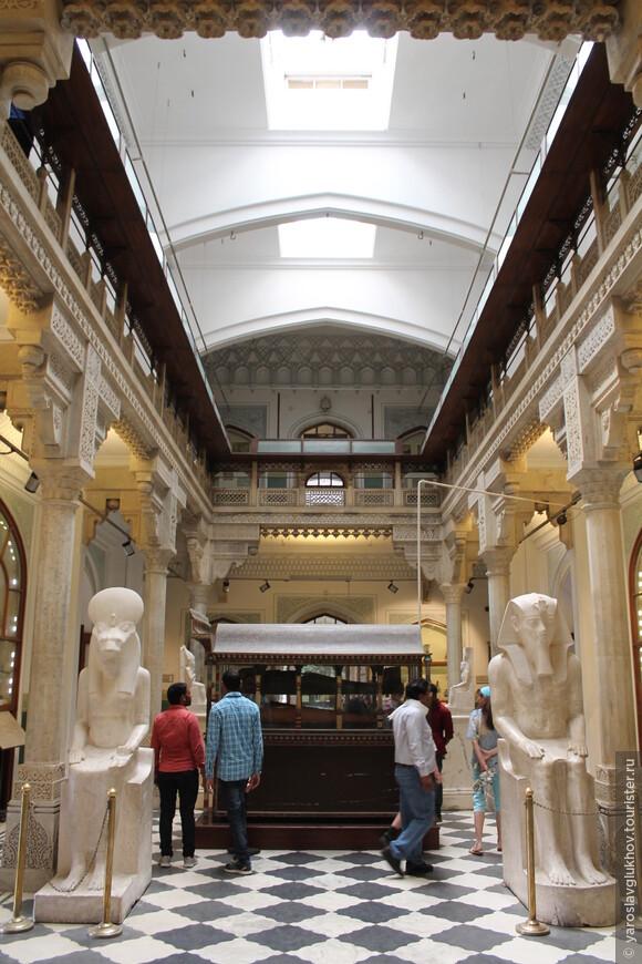 Египетский зал музея.