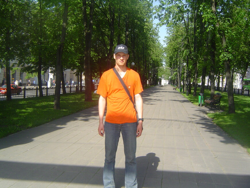 Бульвар на улице Кирова