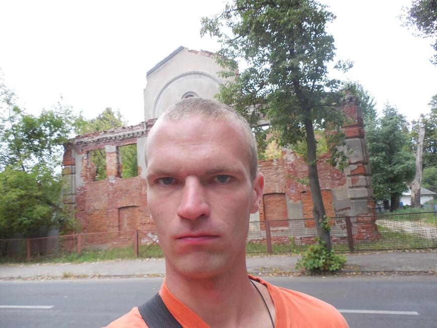 Руины старого здания